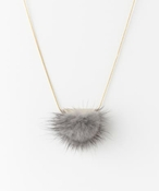 dix FUR NECKLACE