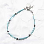 smbati(サンバティ) Turquois×Onyx×Silver parts