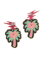 【SRETSIS JEWELRY】Neon Tropical Earrings Surprise Led Spark