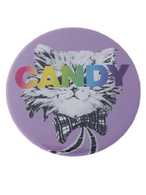【CASUAL】CANDY CAT缶バッチ特大