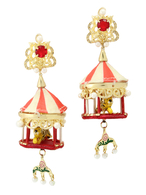 【77th】TENT BAROQUE EARRINGS