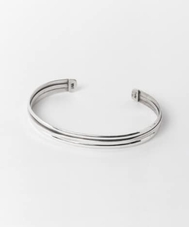 FIRST AMERICA TRADERS STERLIMG SILVER BANGLE SB3