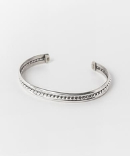 FIRST AMERICA TRADERS STERLIMG SILVER BANGLE SB7