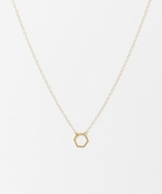 THE Pi COLLECTION Mini Hex Necklace
