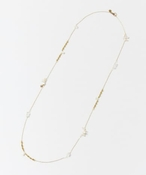 CERASUS Keshi pearl Long NECKLACE