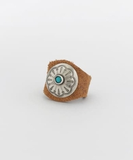 YUKETEN LEATHER RING W