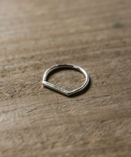 REBECCA GLADSTONE JEWELLERY horizon ring