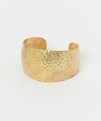WE SEE STARS Brass cuff blacelet