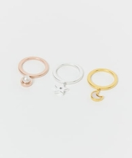 GOLD PHILOSOPHY CHARM RING