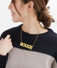 dix ROUGE MIRROR NECKLACE