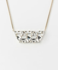 dix BIG TRIANGLE NECKLACE
