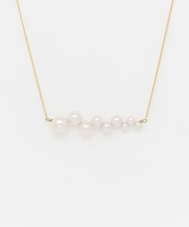 dix THUNDER PEARL NECKLACE