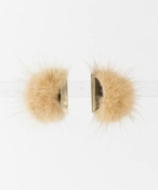 dix METAL FUR EARRING