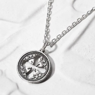 SYMPATHY OF SOUL(シンパシー・オブ・ソウル) Cut Out Coin Pendant-Cross
