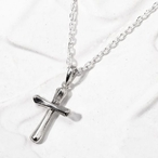 SYMPATHY OF SOUL(シンパシー・オブ・ソウル) Natural Cross Pendant Silver