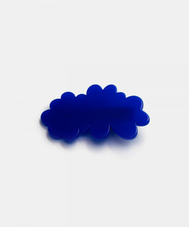 FRUTA CLOUD HAIR CLIP BLUE
