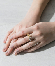 SYMPATHY OF SOUL STYLE Chain Ring