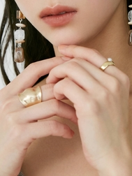 PEARL MATTE 3PCS RING